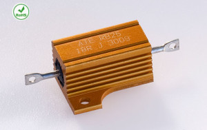 RB25 Wirewound Aluminum Housed Axial Resistor
